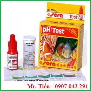 Hộp test pH nước hãng Sera