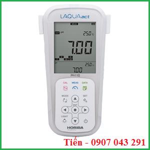 Máy đo pH cầm tay pH 110 hãng Horiba