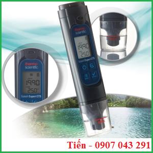 Bút đo độ dẫn Expert CTS được dùng để đo độ dẫn, TDS, độ mặn, nhiệt độ của nước.