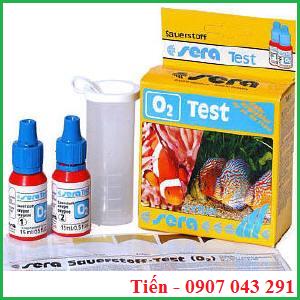 Hộp test Oxi hòa tan trong nước Sera