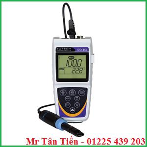 Máy đo DO cầm tay model DO 450 của hãng Eutech được dùng để đo nồng độ Oxy hòa tan (DO) và nhiệt độ của nước.