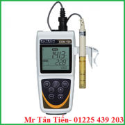 Máy đo độ dẫn cầm tay CON 450 của hãng Eutech được dùng để đo độ dẫn, TDS, độ mặn, nhiệt độ của nước.