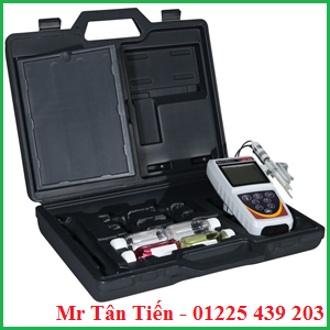 Cung cấp bao gồm của máy đo pH cầm tay Eutech (model: pH 450)