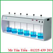 Máy khuấy JarTest cùng tốc độ của hãng Velp được dùng nhiều trong các phòng thí nghiệm về môi trường.