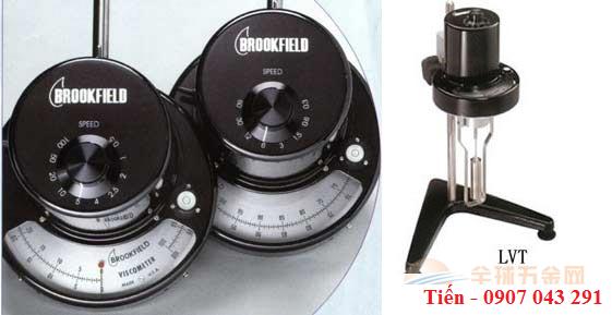 Máy đo độ nhớt hiện kim LVT hãng Brookfield