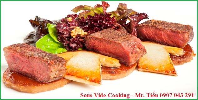 Phương pháp nấu ăn ngon Sous Vide Cooking