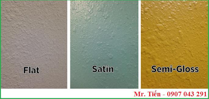 lựa chọn độ bóng phù hợp trong ngành sơn phủ