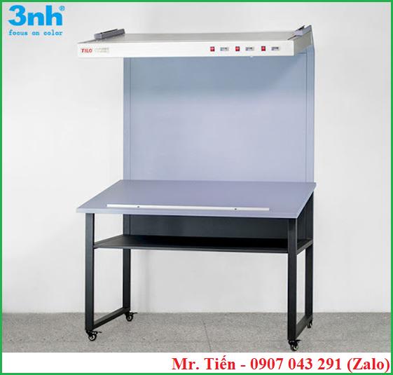 Bàn đèn ánh sáng chuẩn giúp kiểm tra màu sắc vải, sơn phủ, in ấn, bao bì CC120A hãng Tilo