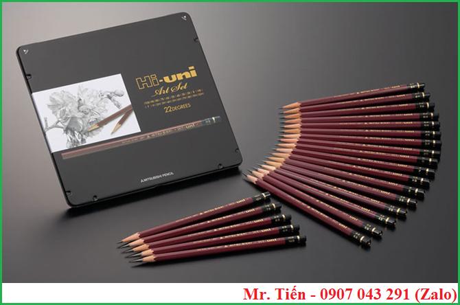 Bộ bút chì chuẩn dùng để kiểm tra độ cứng sơn hãng Mitsubishi