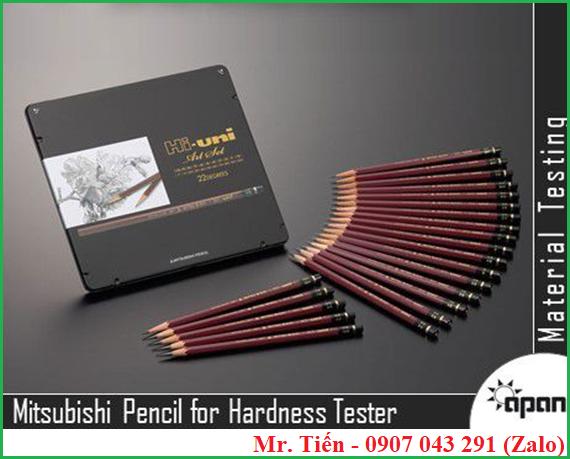 Bộ bút chì kiểm tra độ cứng sơn Mitsubishi (Pencil for hardness tester)