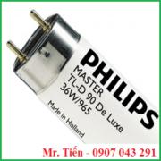 Bóng đèn D65 Day light Philips Master TL-D 90 Graphica 36W/965