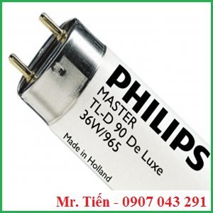 Bóng đèn D65 Day light Philips Master TL-D 90 Graphica 36W/965