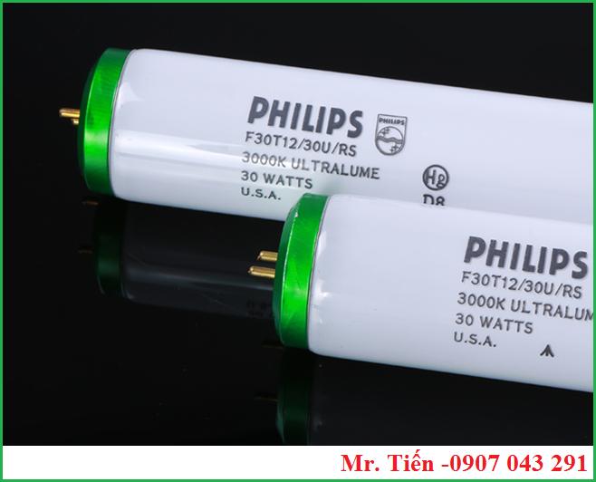 Bóng đèn Philips F30T12/30U/RS 3000K ULTRALUME 30 WATTS U.S.A