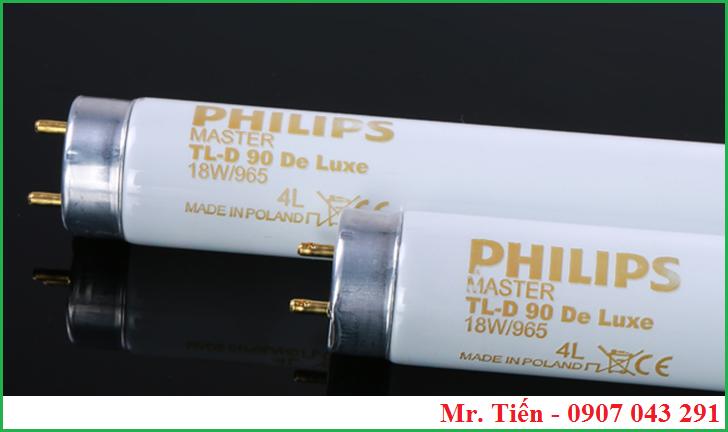 Bóng đèn D65 Philips Master TL-D De Luxe 18W/965