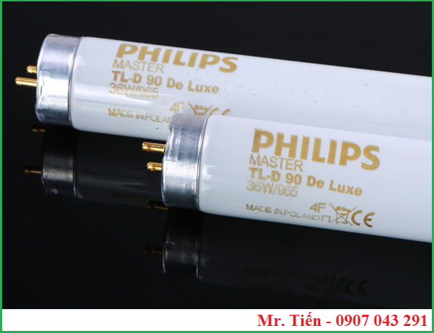 Bóng đèn Philips Master TL-D 90 De Luxe 36W/965 Made in Poland