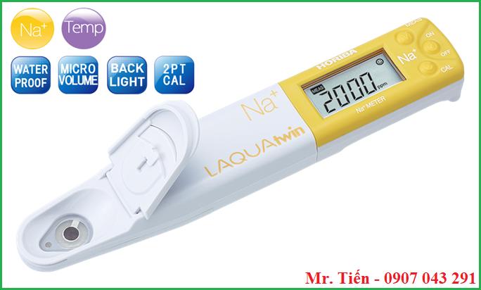 Bút đo ion Natri LAQUAtwin Na+ Meter Horiba Nhật Bản
