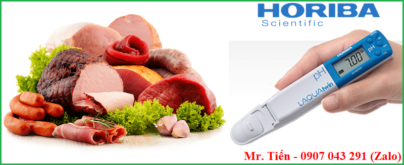 Cách đo pH xác định độ tươi của thịt và thực phẩm tươi sống