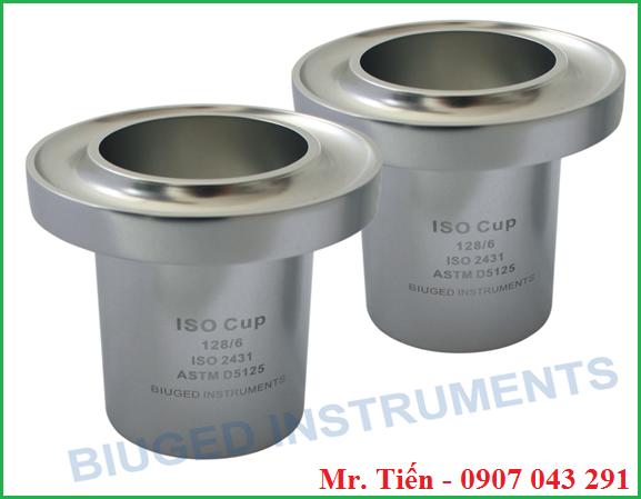Cốc đo độ nhớt ISO Cup BGD 128 hãng Biuged