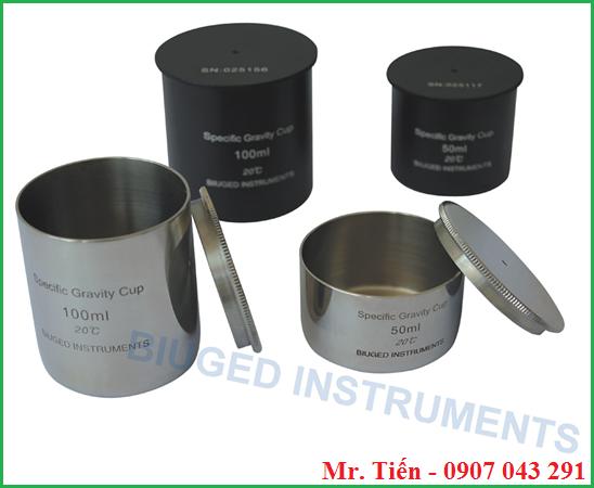 Cốc đo tỷ trọng Specific Gravity Cup BGD 296 hãng Biuged