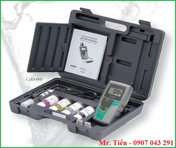 Cung cấp bao gồm của máy đo độ pH của nước pH5+ Eutech