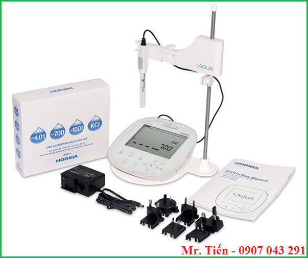 Cung cấp bao gồm của máy đo pH 1100 Horiba
