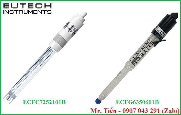 Điện cực máy đo pH (pH Electrode) ECFC7252101B và ECFG6350601B hãng Eutech