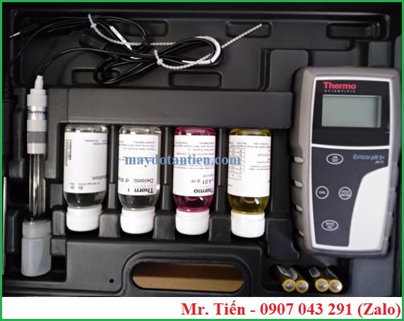 Điện cực pH ECFC7252101B đi chung với máy đo độ pH nước pH 5+ Eutech