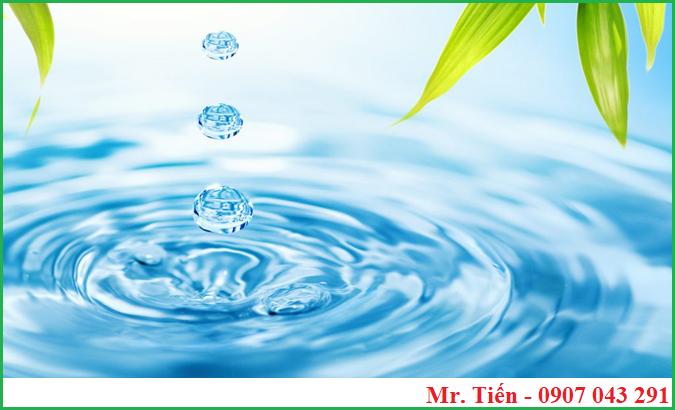 Đo TDS là dữ liệu đầu xác định độ sạch tinh khiết của nước cần kiểm tra