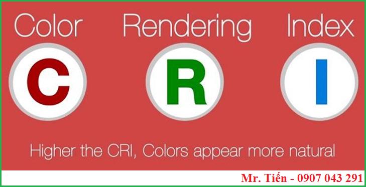 Khái niệm về chỉ số hoàn màu của bóng đèn CRI