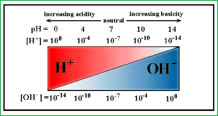 Khái niệm về độ pH nước