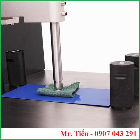 Máy BEVS dùng để kiểm tra độ bền chống mài mòn của màng sơn khô