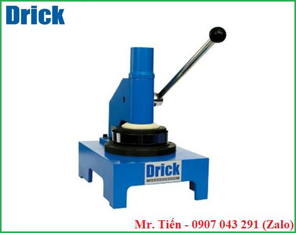 Máy cắt giấy và bìa carton tròn kiểm tra độ hấp thụ nước Cobb DRK110-1 hãng Drick