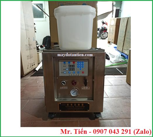 Máy châm dung môi tự động điều chỉnh độ nhớt mực khi in hãng BML