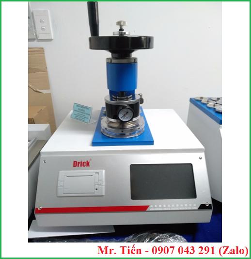 Máy đo độ bục giấy Carton DRK 109A hãng Drick (Paper Bursting Strength Tester)