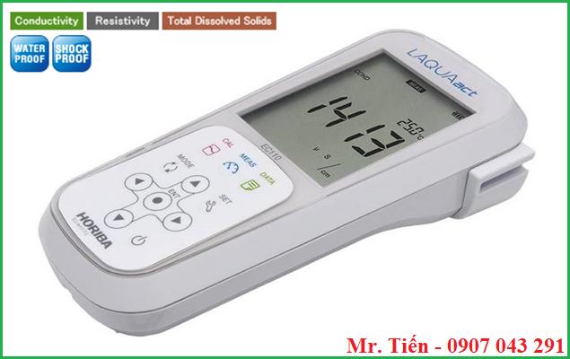 Máy đo độ dẫn điện cầm tay EC 110 hãng Horiba Nhật Bản
