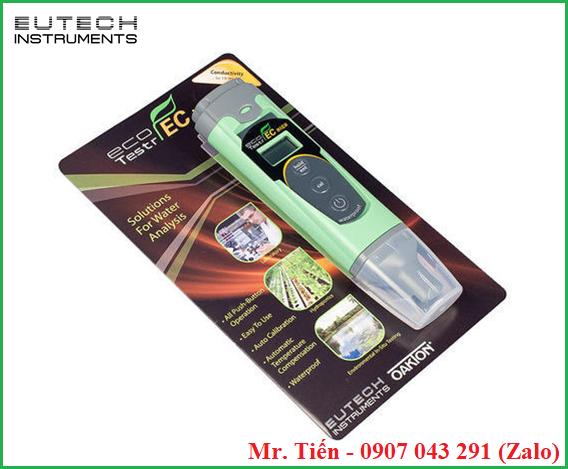 Máy đo độ dẫn điện của nước EcoTestr EC hãng Eutech
