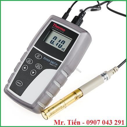 Máy đo độ mặn của nước Salt 6+ hãng Eutech