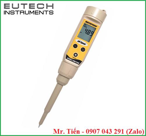 Máy đo độ pH thịt thực phẩm pHSpear hãng Eutech