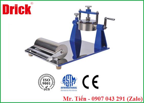 Máy đo độ thấm nước của giấy và bìa Carton (Cobb Absorbency Tester) DRK 110 hãng Drick