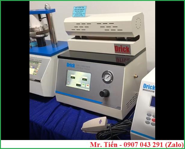 Máy đo nhiệt độ hàn dán bao bì DRK133 Drick (Heat Seal Tester)