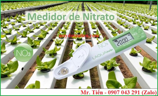 Máy đo Nitrat NO3 trong đất, nước, rau củ và thực phẩm hãng Horiba (Nhật Bản)