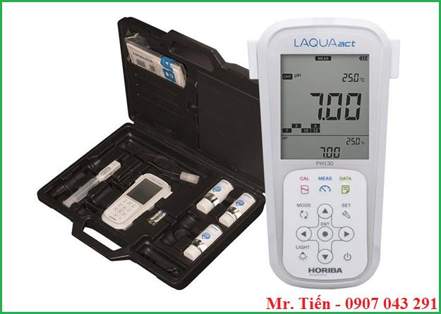 Máy đo pH nước pH 130 hãng Horiba Nhật Bản