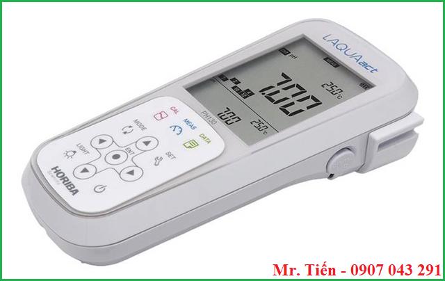 Máy đo pH, ORP, Ion trong nước pH 130 hãng Horiba Nhật Bản