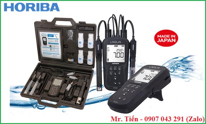 Máy đo pH và độ dẫn điện của nước đa chỉ tiêu LAQUA PC210 hãng Horiba (Nhật Bản)