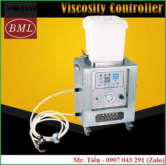 Máy kiểm soát độ nhớt mực khi in ống đồng Viscosity Controller hãng BML