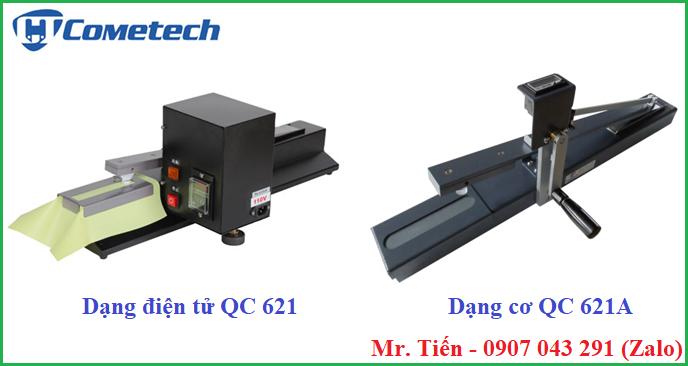 Máy kiểm tra độ bền màu ma sát của vải QC 621 và QC 621A hãng Cometech