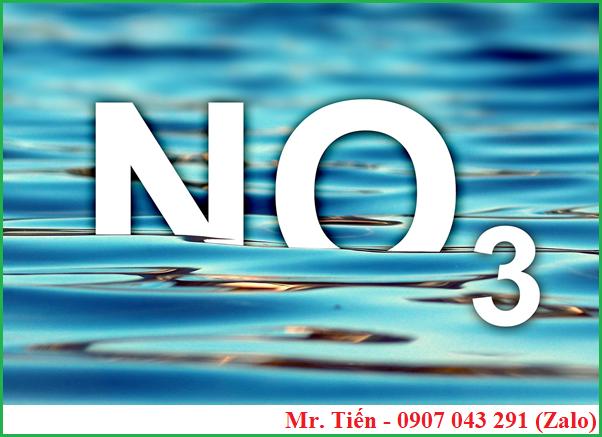 Nồng độ Nitrat NO3 trong nước