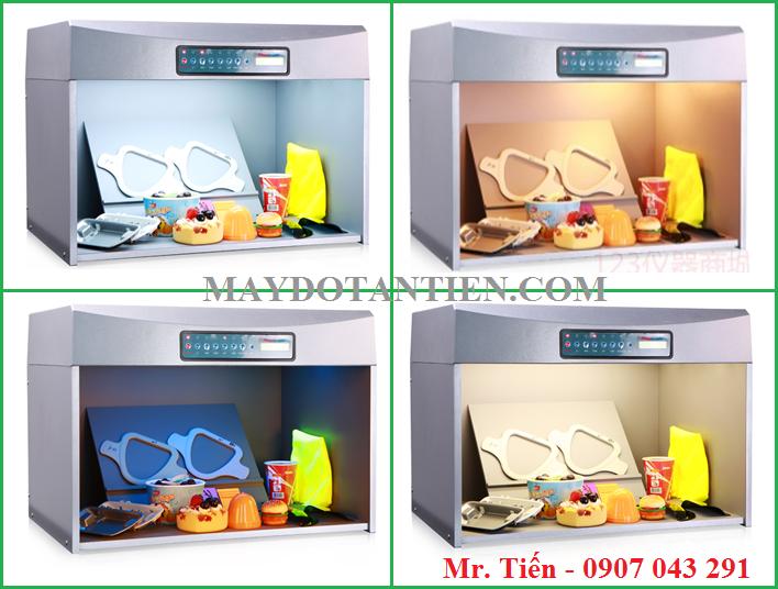 Phát hiện meta nhờ tủ so màu vải giá rẻ T60 hãng Tilo