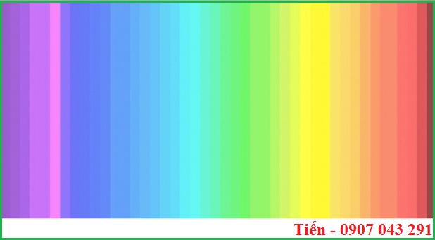 Phương pháp kiểm tra so sánh màu sắc của vải,sơn, nhựa, giấy,......