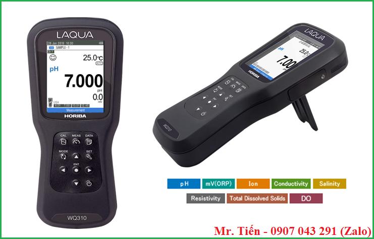 Thông số kỹ thuật của máy đo pH, độ dẫn, Oxy đa chỉ tiêu LAQUA WQ310 hãng Horiba